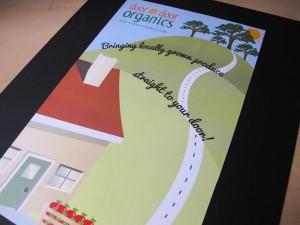 Door to Door Organics Poster